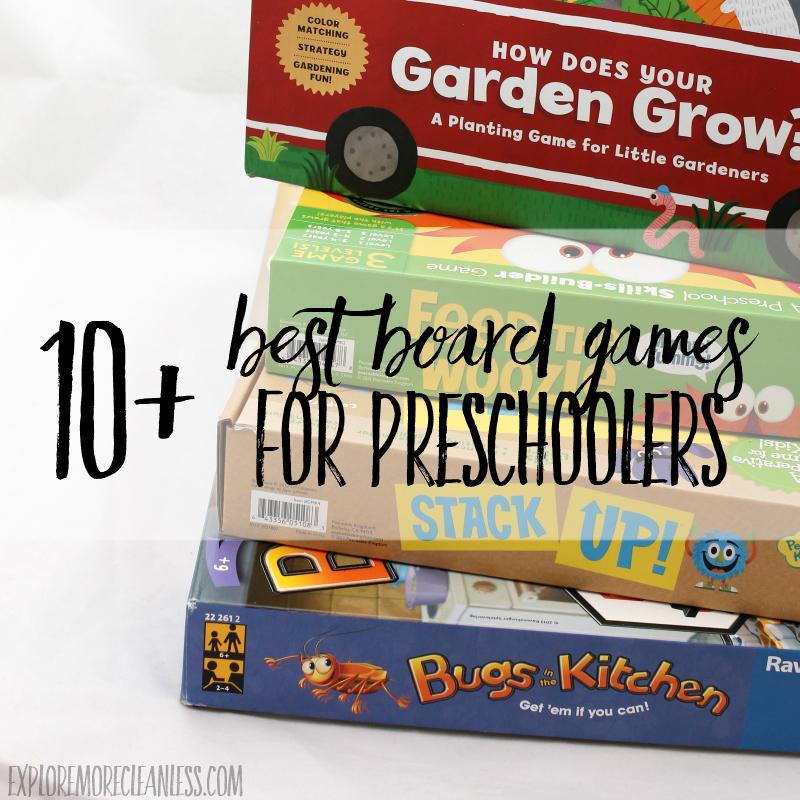 10 Best Board Games for Preschoolers