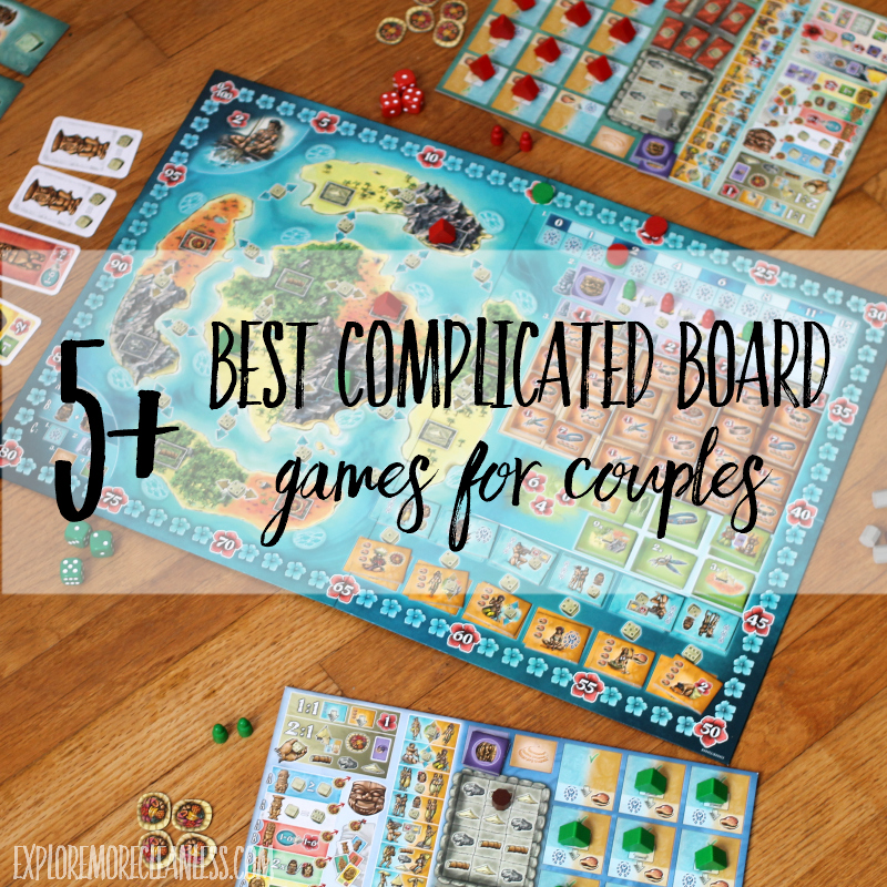 5 Best Heavy Board Games for Couples