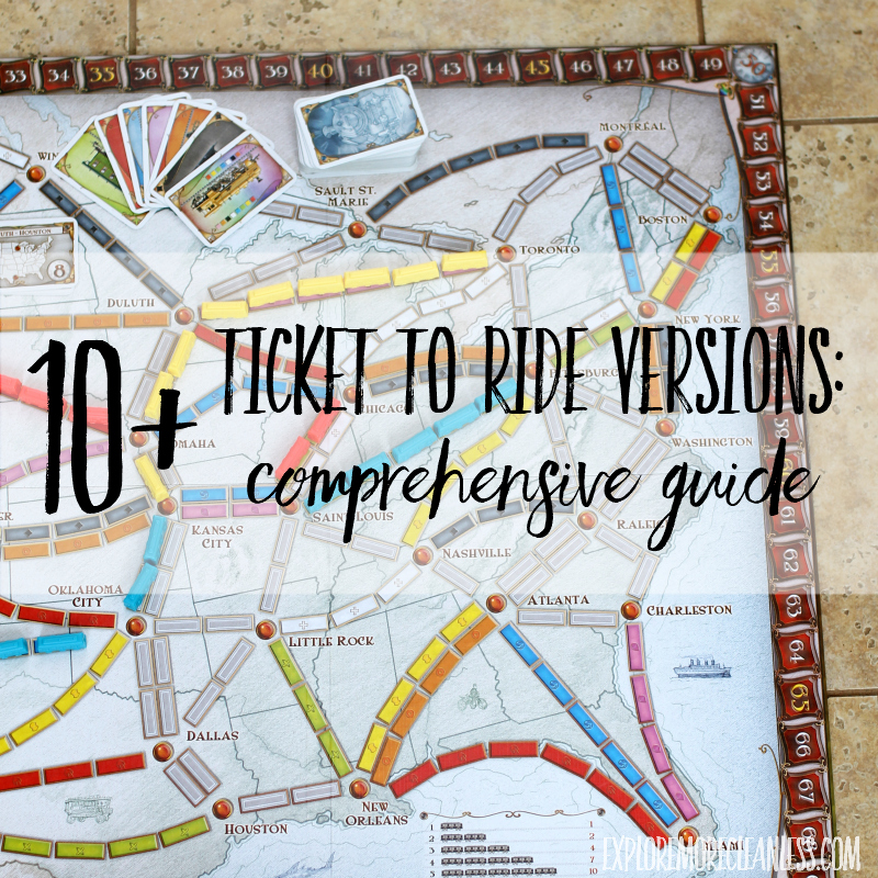 Ticket to Ride Versions: Comprehensive Guide