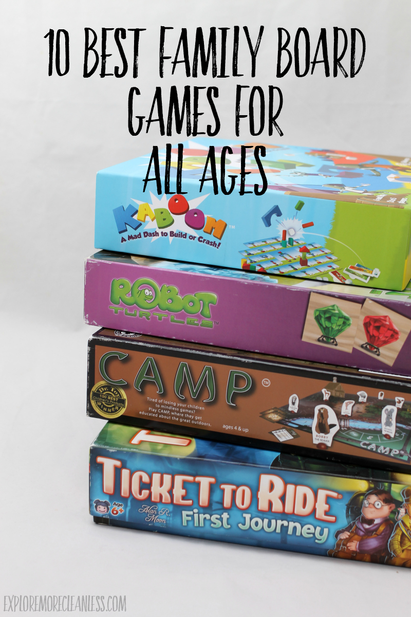 board games to play as a whole family