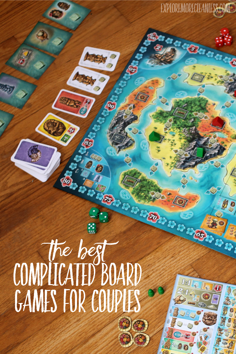 complicated board games for two people
