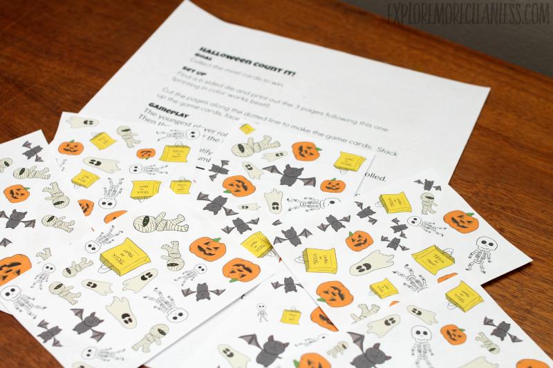 printable halloween game for preschool