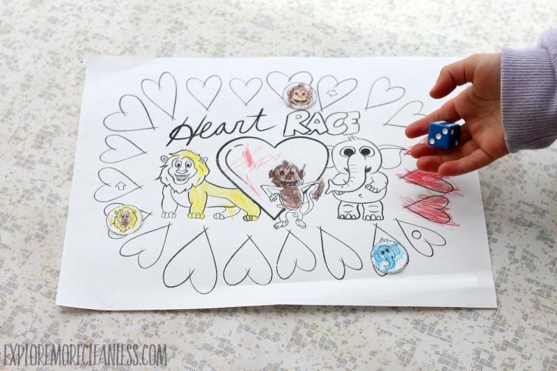 printable valentine game for preschoolers