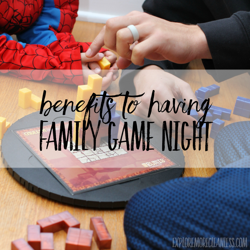 why have family game night