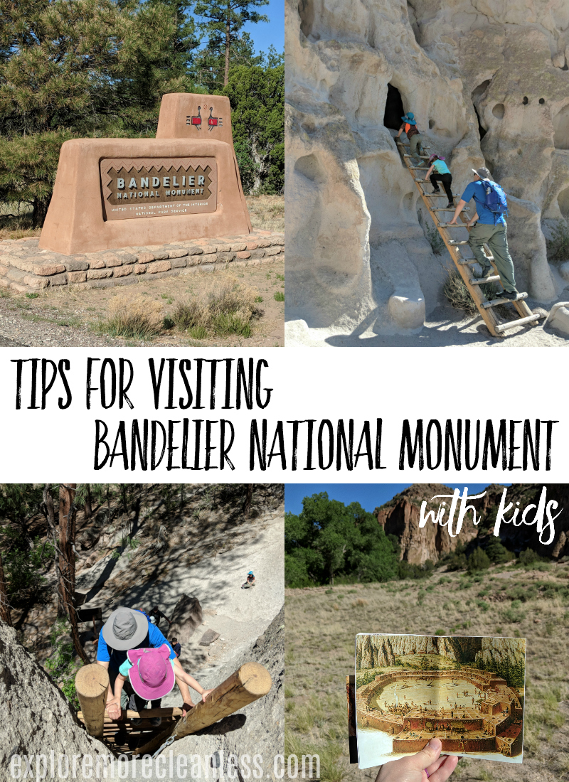 This is such a cool place in New Mexico to take your kids - Bandelier National Monument. Read up on things we wished we'd known before we went, and see pictures of the trails! #travel #travelwithkids #newmexico #traveltips