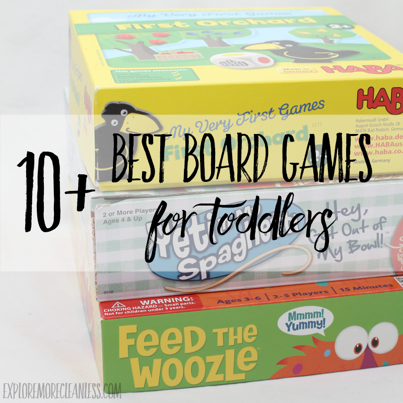 10 Best Board Games for Toddlers