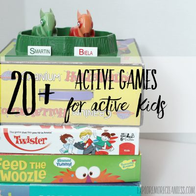 Active Board Games for Active Kids