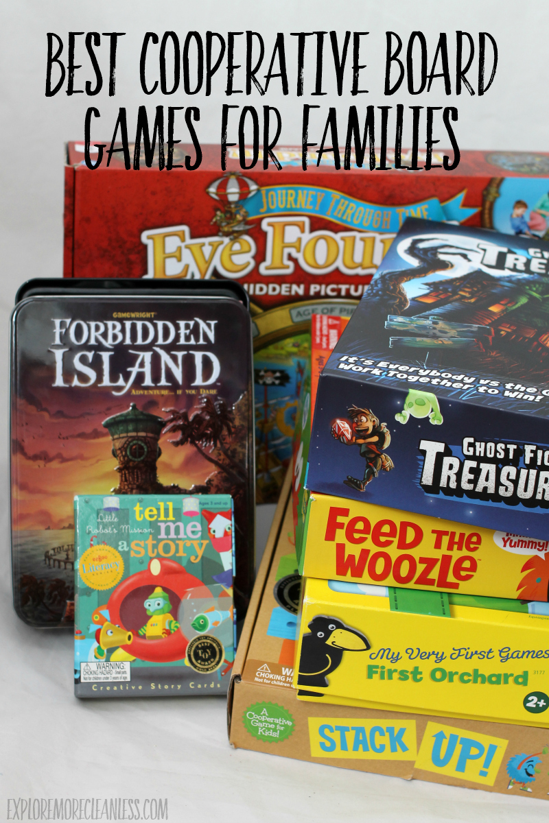 best cooperative board games for kids