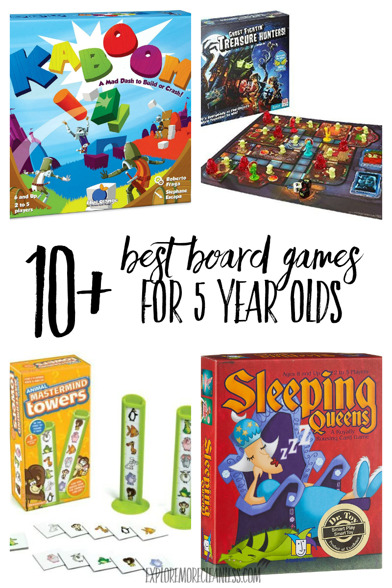 best games for kindergarteners