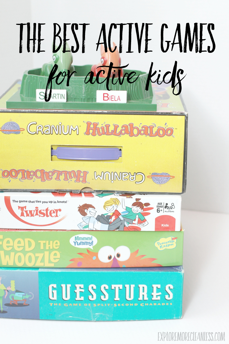 busy games that get kids moving