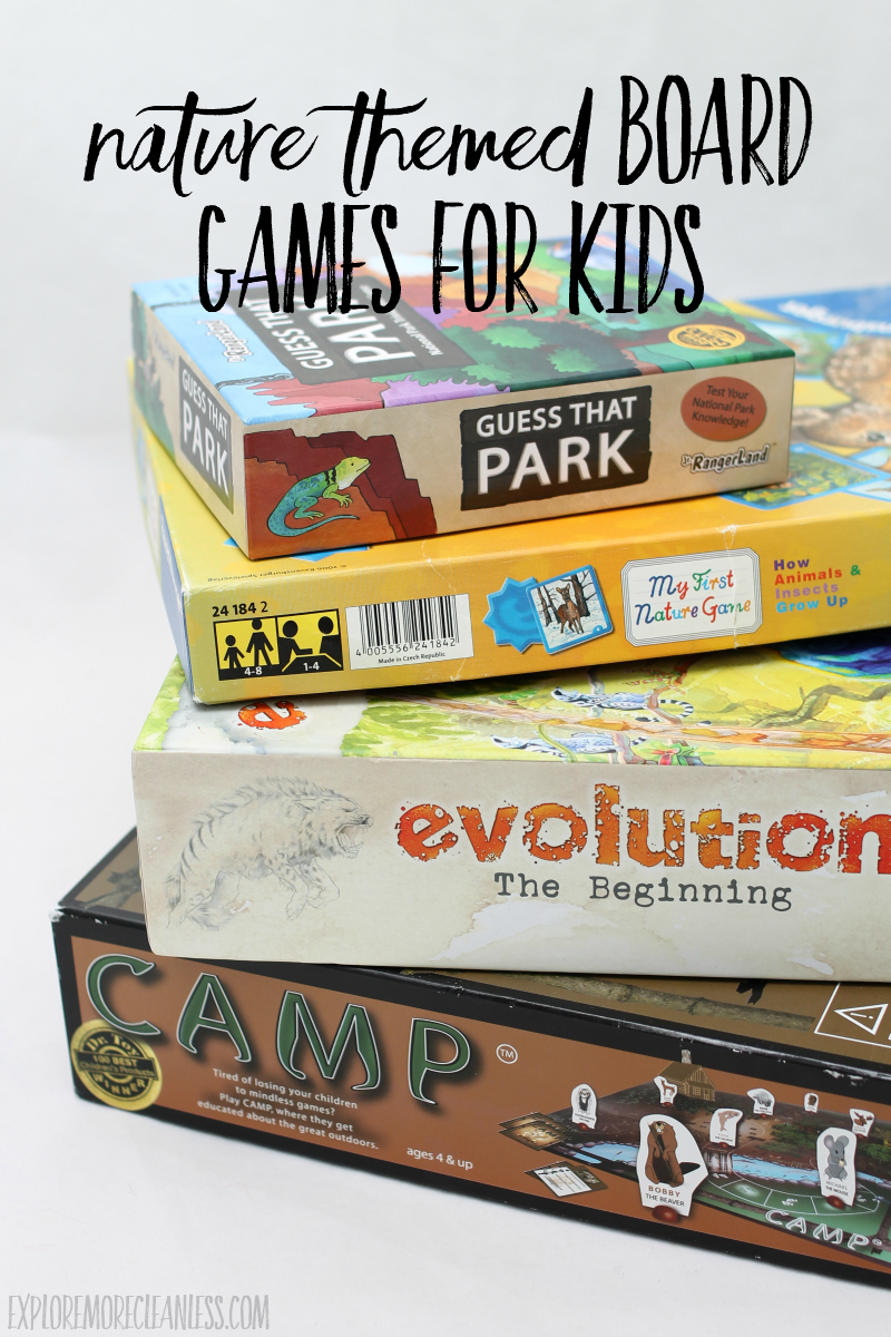 outdoorsy board games