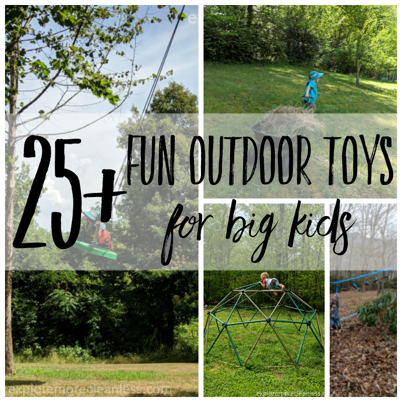 outdoor toys for big kids