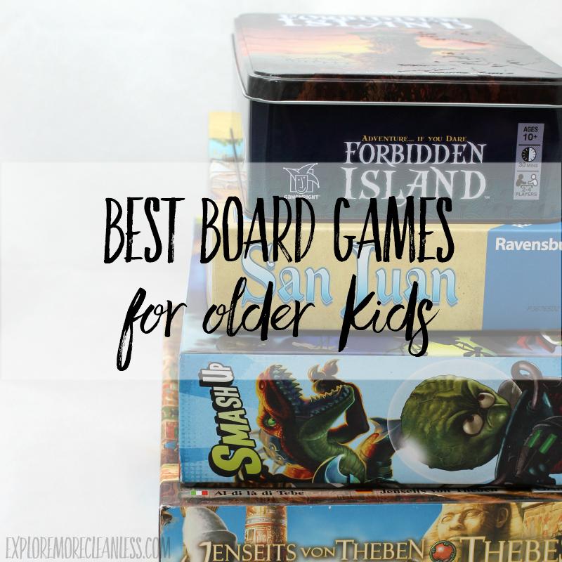 Best Board Games for Older Kids