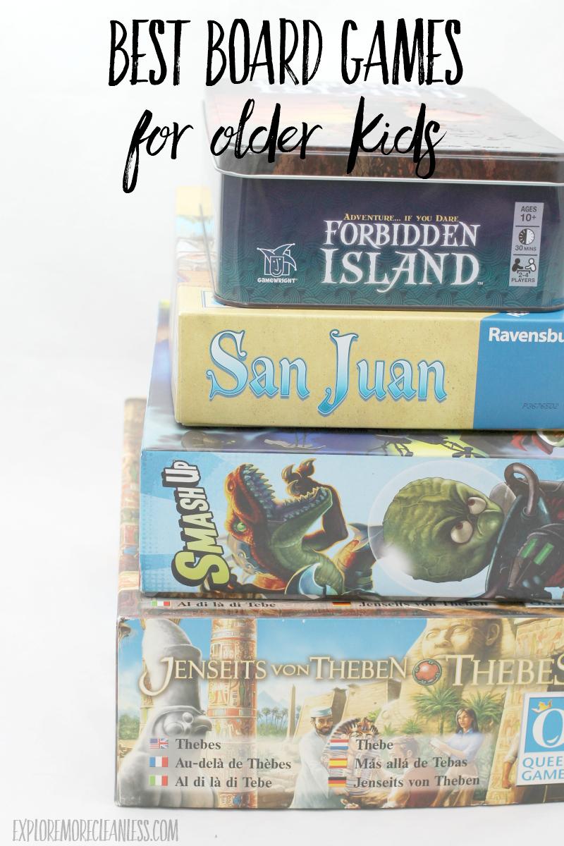 best board games for middle school kids