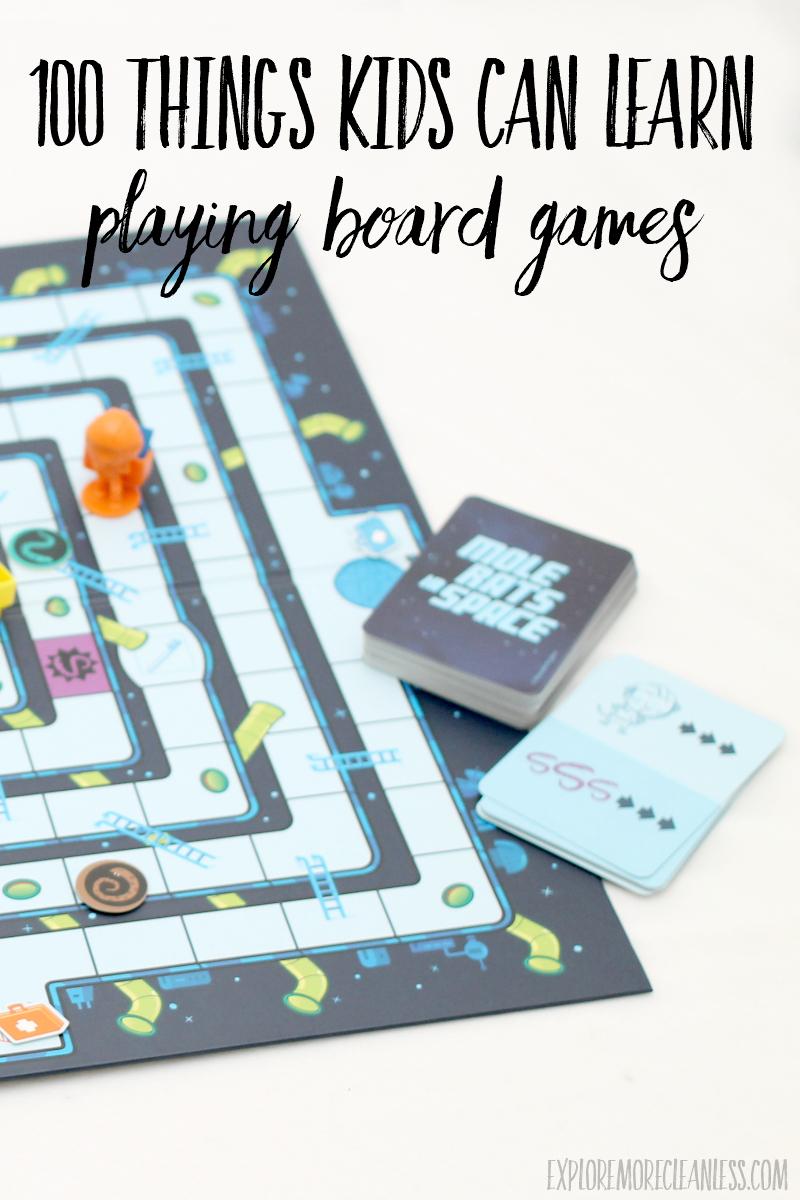 board game homeschooling