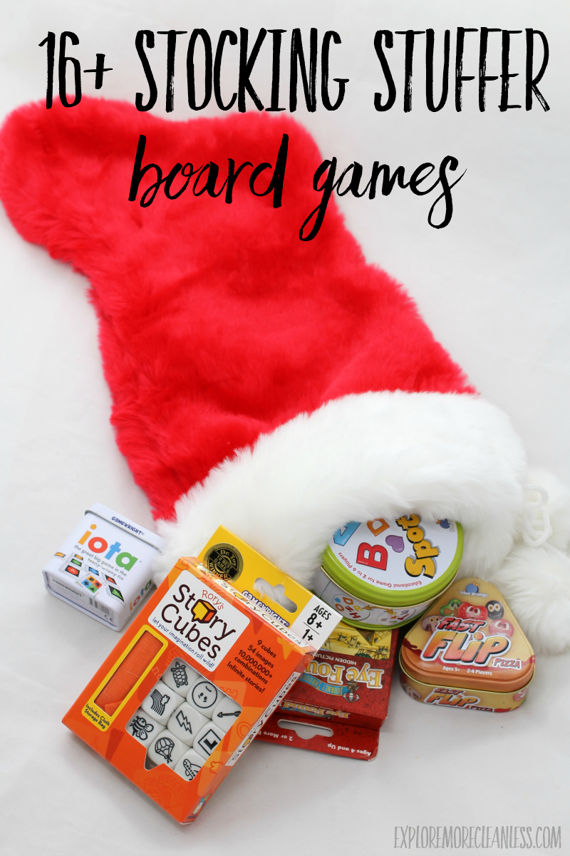board games that fit in a stocking
