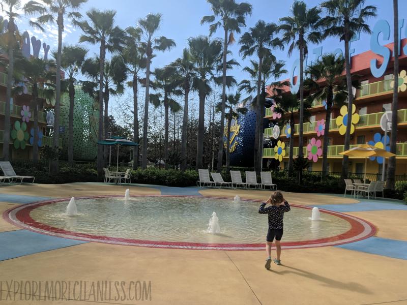 pop century wading pool 2019