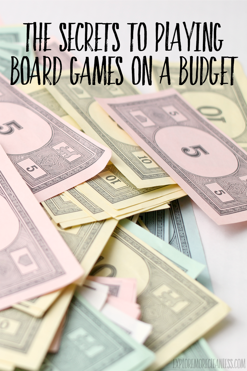 save money on board games
