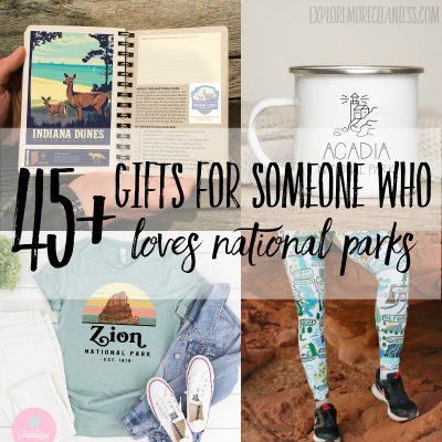 45+ of the best gifts for someone who loves national parks