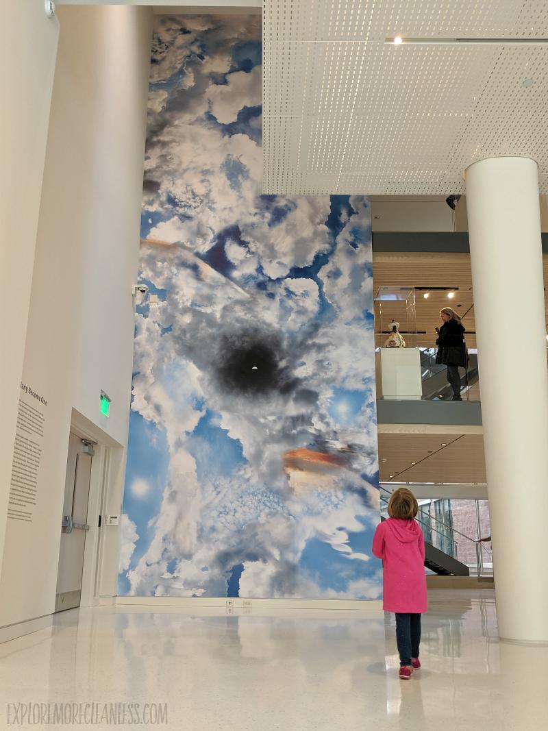 asheville art museum lobby