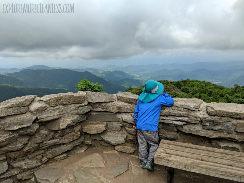 craggy gardens with kids