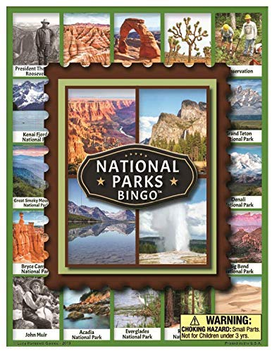 national parks bingo