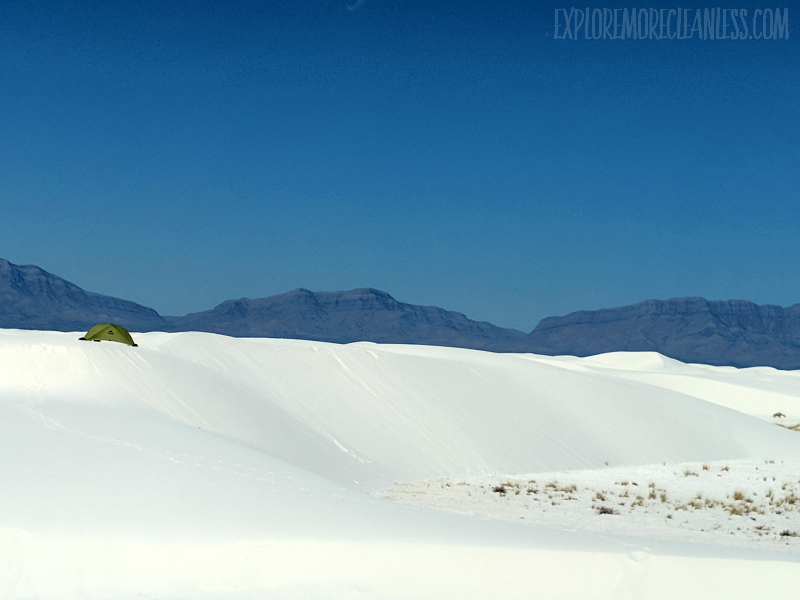 camping white sands national monument new mexico