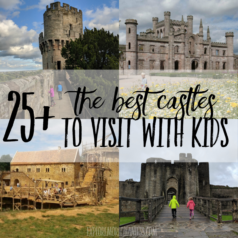 25+ of the best castles to visit with kids