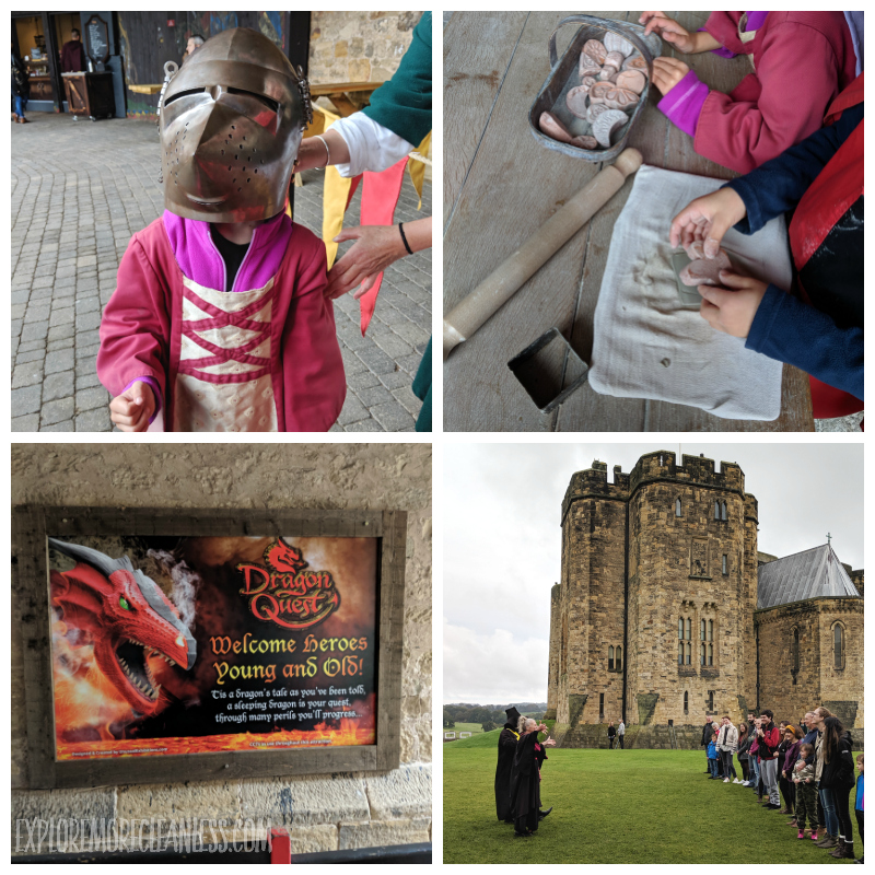 alnwick castle with kids