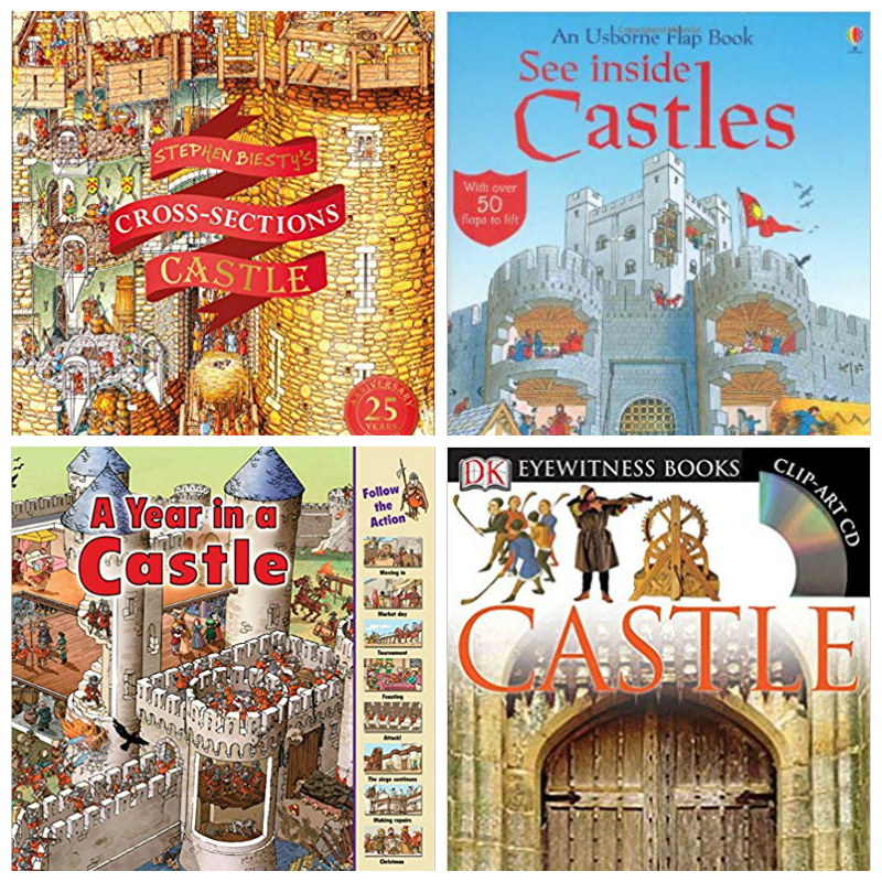 kids books about castles