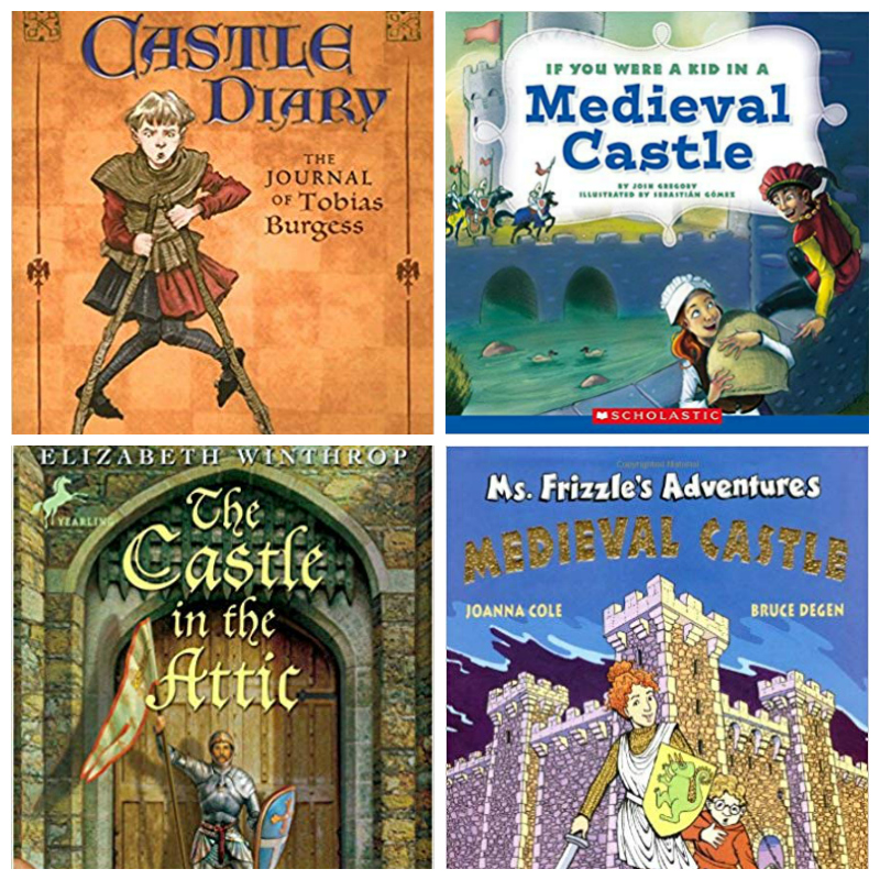 kids story books about castles
