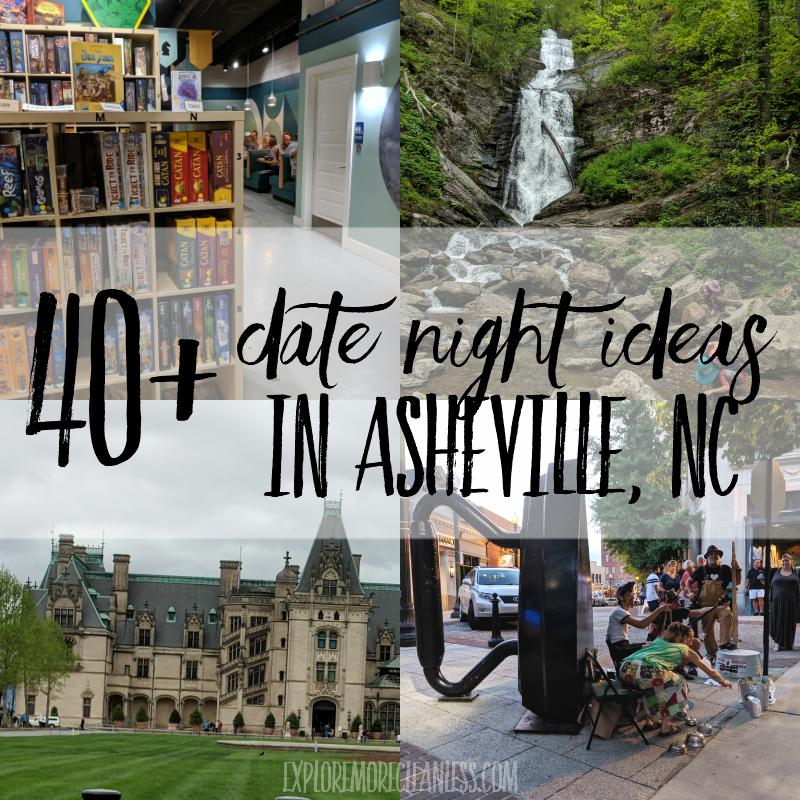 40+ Asheville date ideas