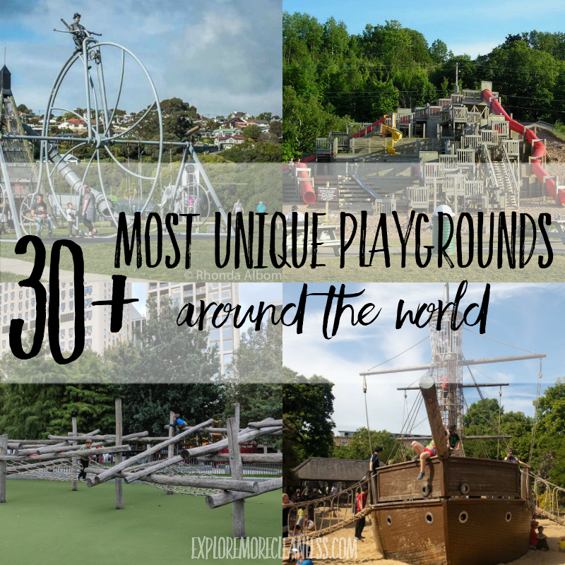 Best playgrounds in the world