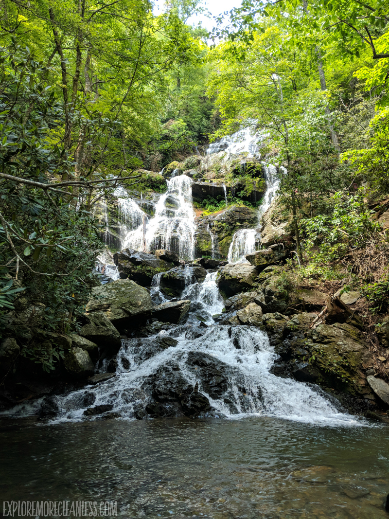 asheville waterfall