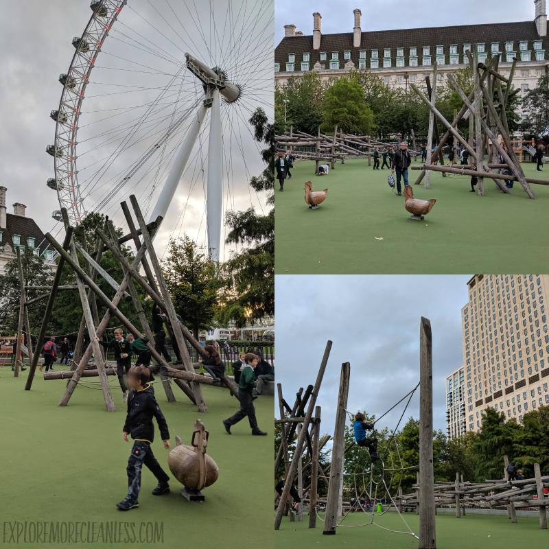 Jubilee Gardens Park in London