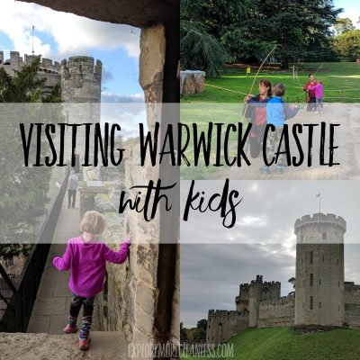 Visiting warwick castle with kids