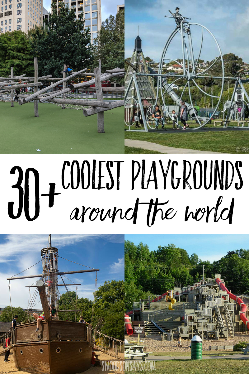 coolest playgrounds in the world