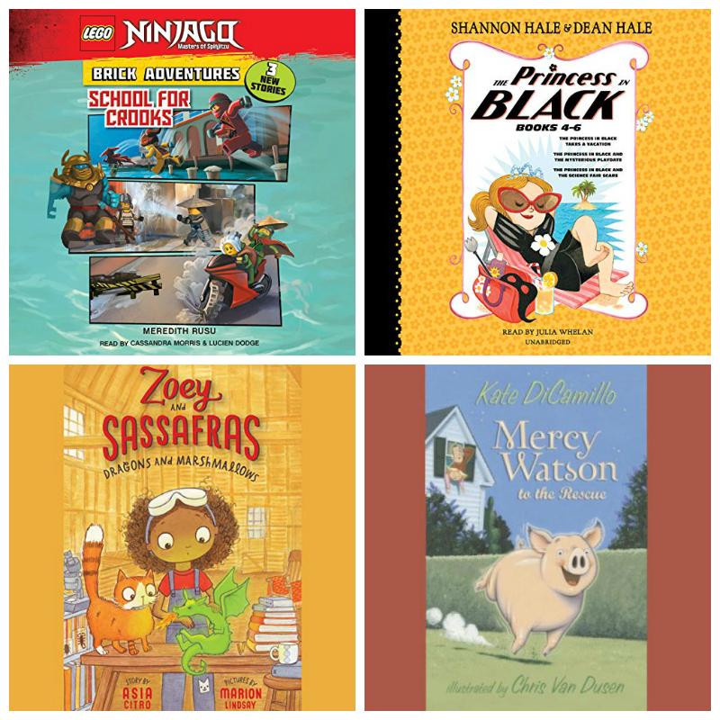 early elementary audiobooks