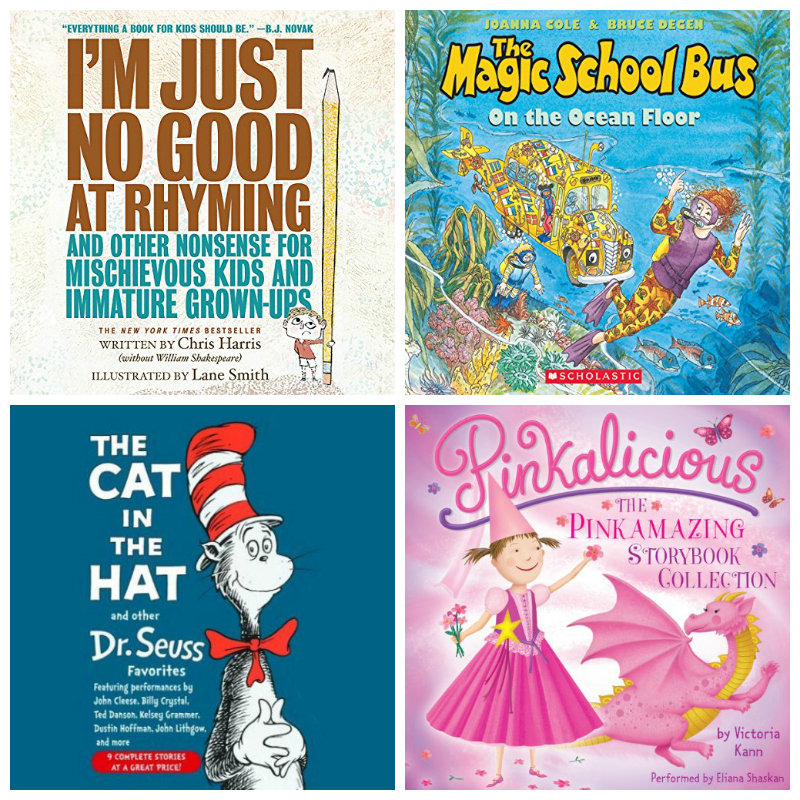first audiobooks for toddlers