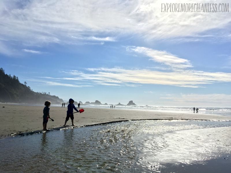 indian beach ecola state park