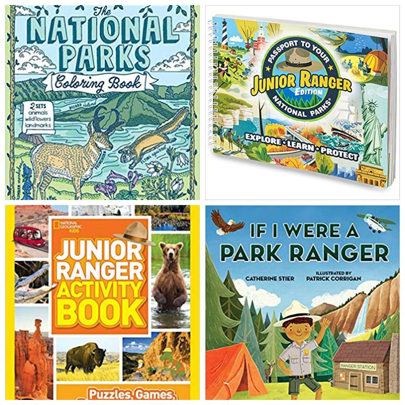 junior ranger books kids