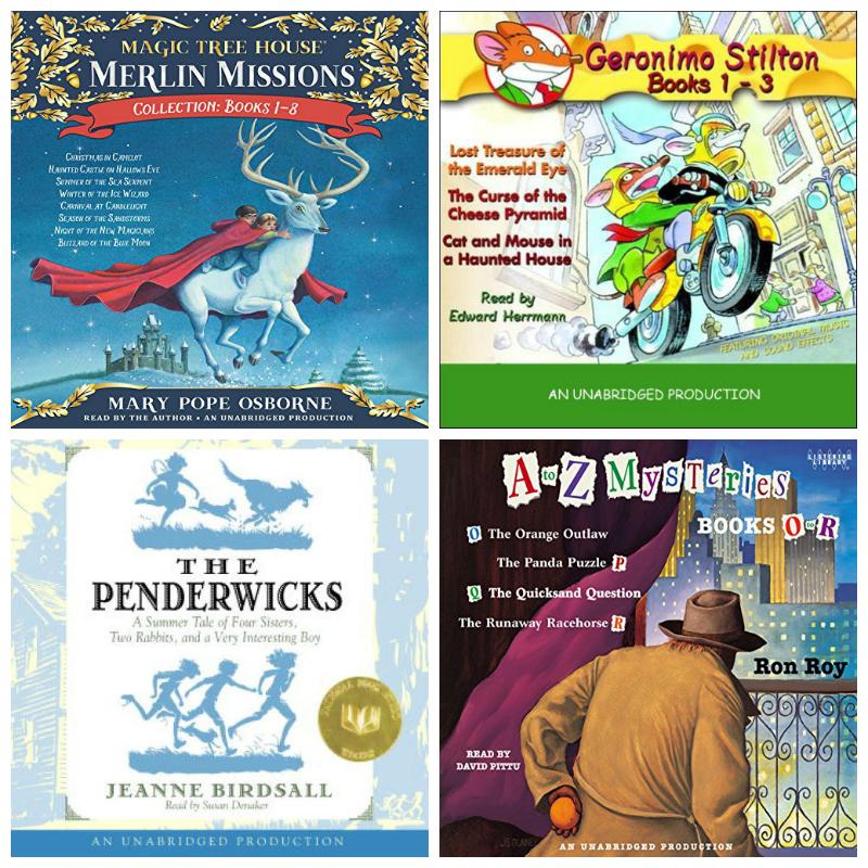 kids series audiobooks