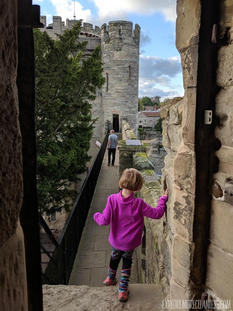 private balcony warwick castle