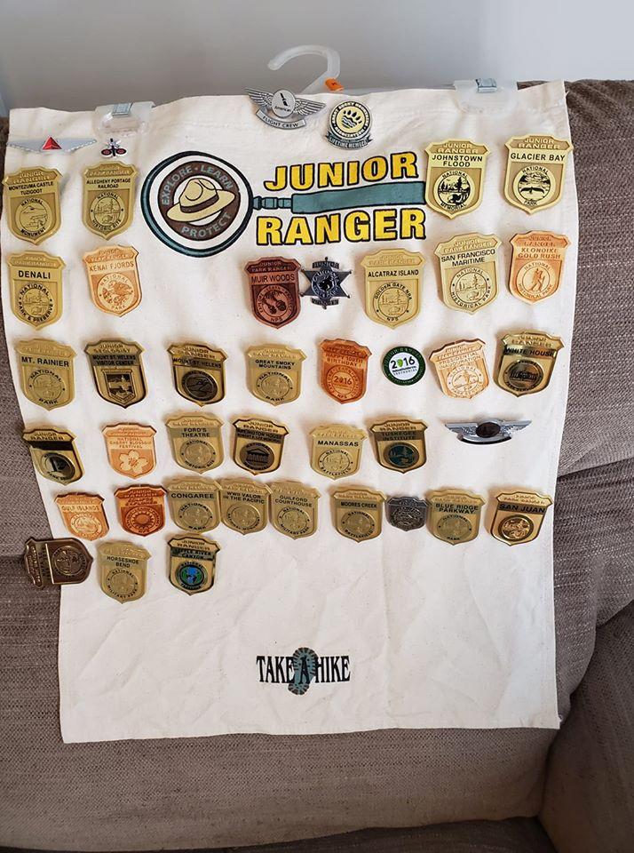 junior ranger display