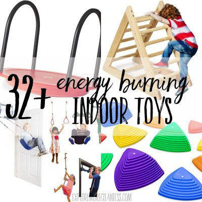 32+ indoor energy burning toys