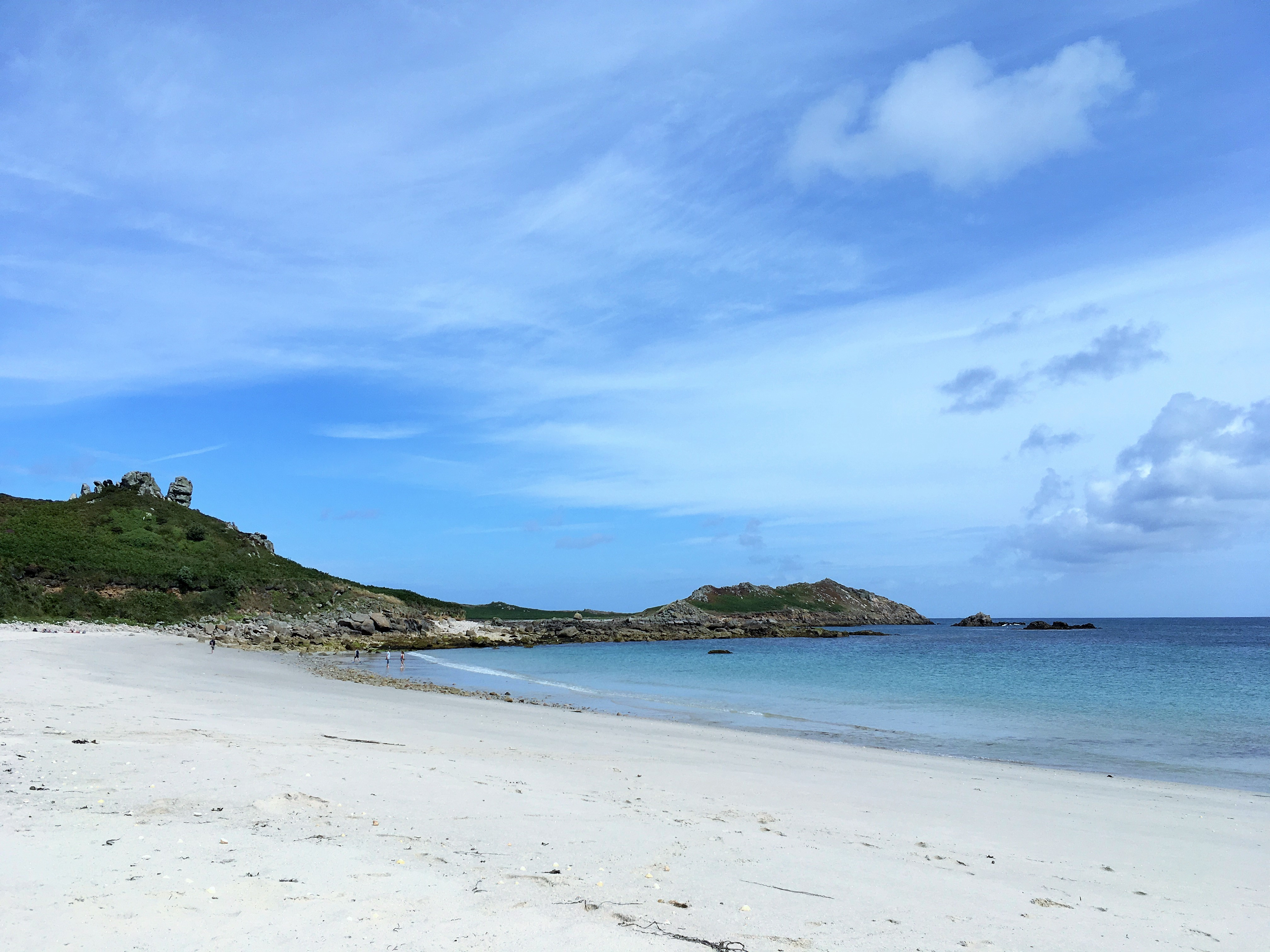 Grand Bay, Isles of Scilly, Smudged Postcard blog