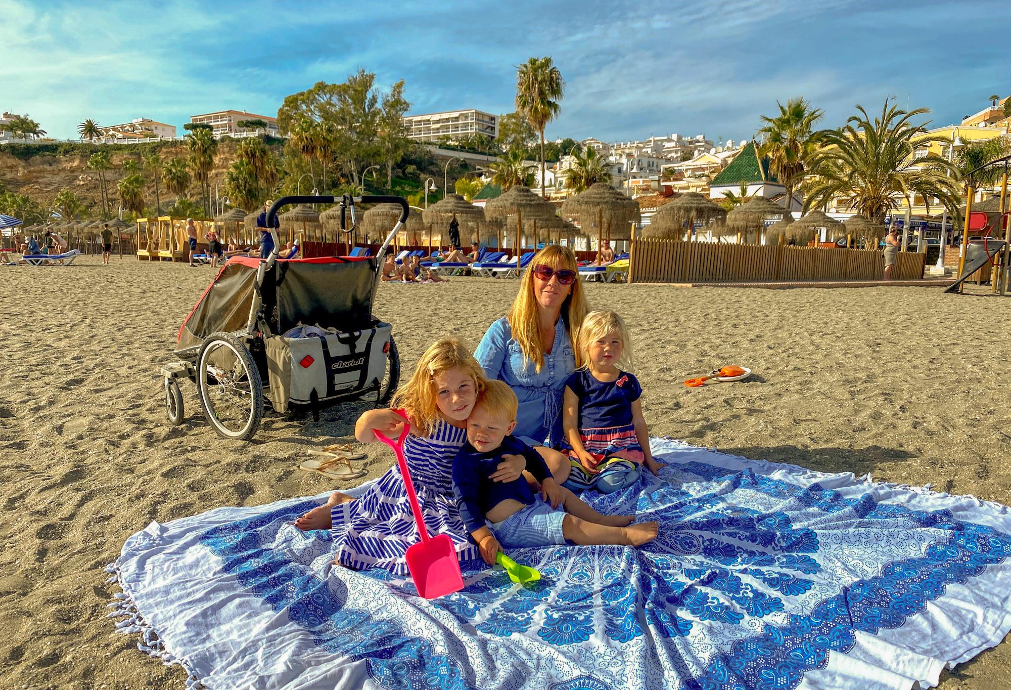 Playa de Burriana, Nerja, Spain