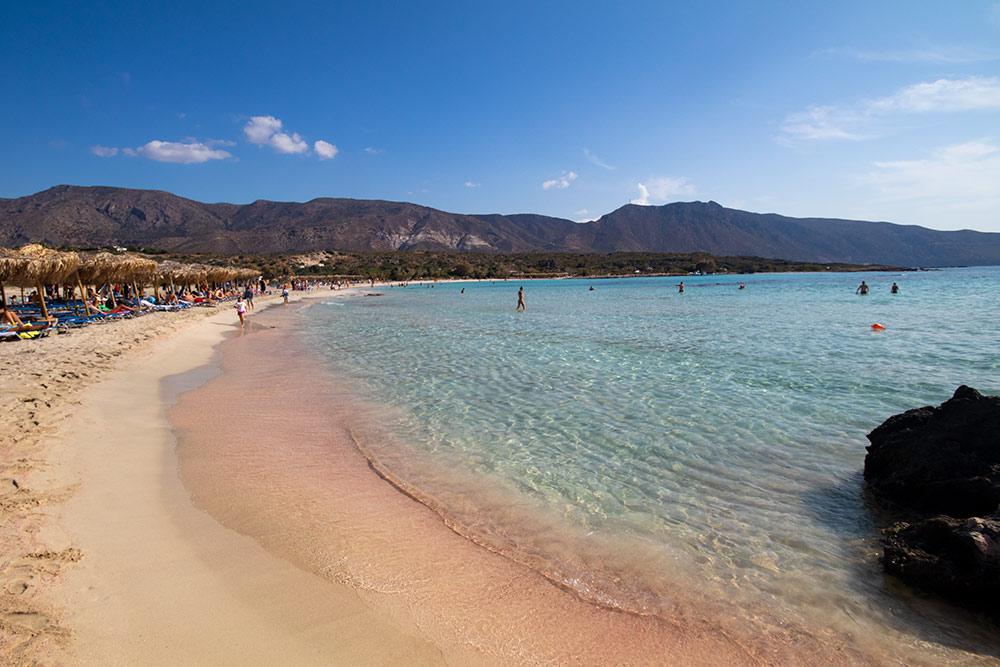 Elafonissi Beach in Crete, Greece
