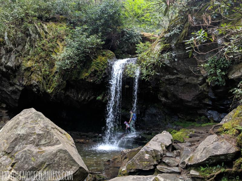 grotto falls gsmnp