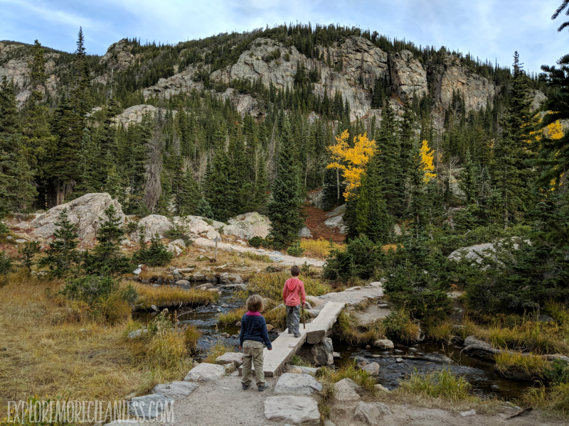 hiking with kids rocky mountains